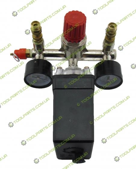 Автоматика (прессостат ) на компрессор  в сборе 380