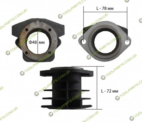 Цилиндр для компрессора ф48 (1 тип )