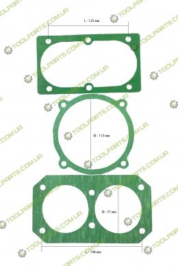 Набор прокладок для компрессора 6 тип