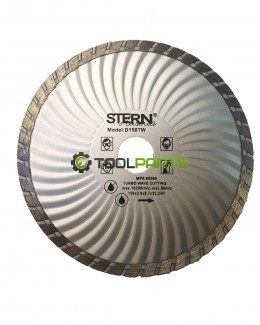 Круг алмазный отрезной STERN 150 турбоволна
