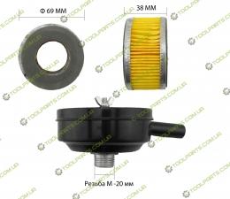 Фільтр повітряний для компресора (залізо)
