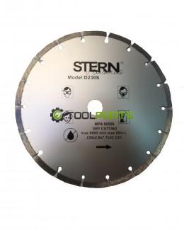 Круг алмазный отрезной Stern 230 сегментный