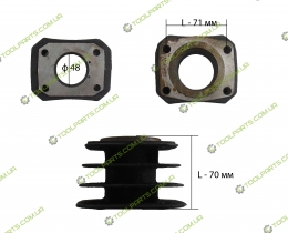 Цилиндр для компрессора ф48 (2 тип )