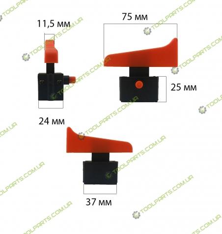 Кнопка болгарки Stern 230 Универсальная