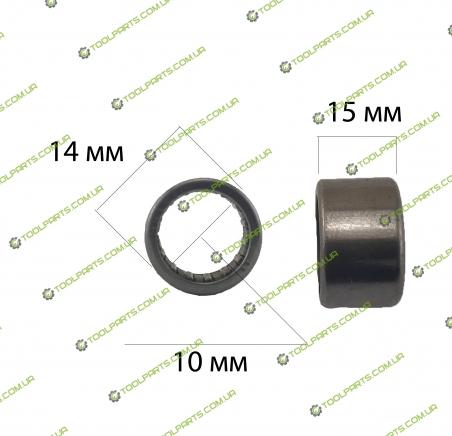 Голчастий підшипник 10x14x15 (HK 1015)