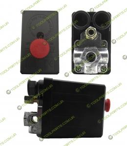 Реле давления (Прессостат) для компрессора 3 Выхода (220)