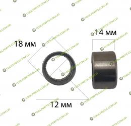 Игольчатый подшипник 12x18x14 (HK 1214)