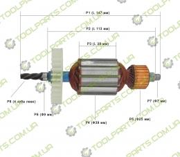 Якір на дриль Югра ВД -1300