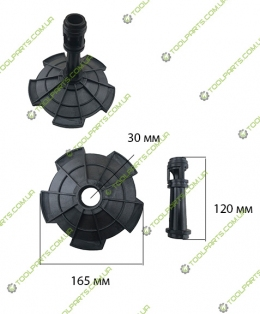 Диффузор + сифон насосной станции JET 100L (Универсальный)