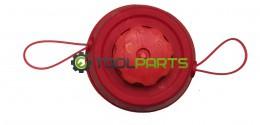 Шпуля (головка) для триммеров и мотокос (Автомат красная)
