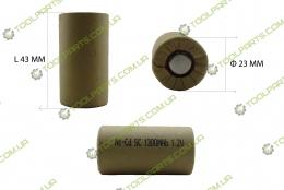 Элемент (банка) аккумулятора 1.2V Ni-Cd 1300mAh