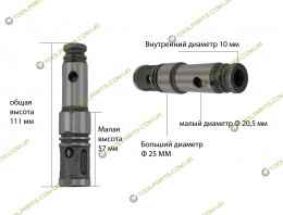 Ствол перфоратора 25x111 (УНИВЕРСАЛЬНЫЙ)