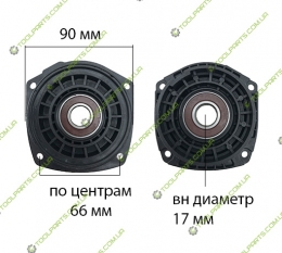 Фланец корпуса редуктора на болгарку Bosch 230