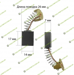 щітки на болгарку Интерскол УШM-180 / 1800м