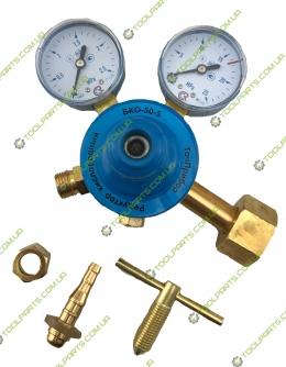 Редуктор газовый кислородный - 2,5 x 25 Mpa