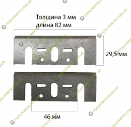 ножі для рубанка Макіта 82 мм (Універсальні)