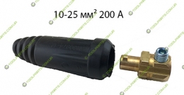 кабельный штекер  байонет папа 10-25