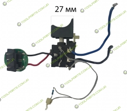 Кнопка на  aккумуляторный шуруповерт li-on (12ABL) С ПЛАТОЙ