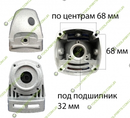 Корпус редуктора болгарки DWT 180DL