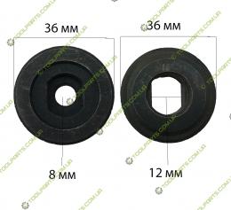 Комплект гайок для дискових пилок 8x12