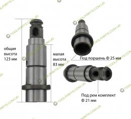 Ствол на перфоратор L123 голый (УНИВЕРСАЛЬНЫЙ)