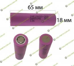 Элемент (Банка) аккумулятора шуруповерта li-ion 3000 mAh (65*18)
