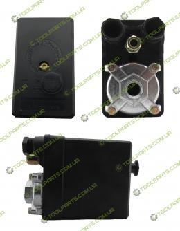 Прессостат (Реле давления) для компрессора (380B 1 Выход)