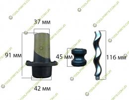 Шнек всборе для насоса 0.55 кВт (Універсальний)