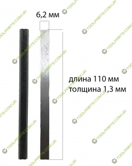 Ножи рубанка Craft (узкие) 110 мм Универсальные
