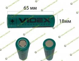 Элемент (Банка) аккумулятора шуруповерта  li-ion 2200 mAh (65*18)
